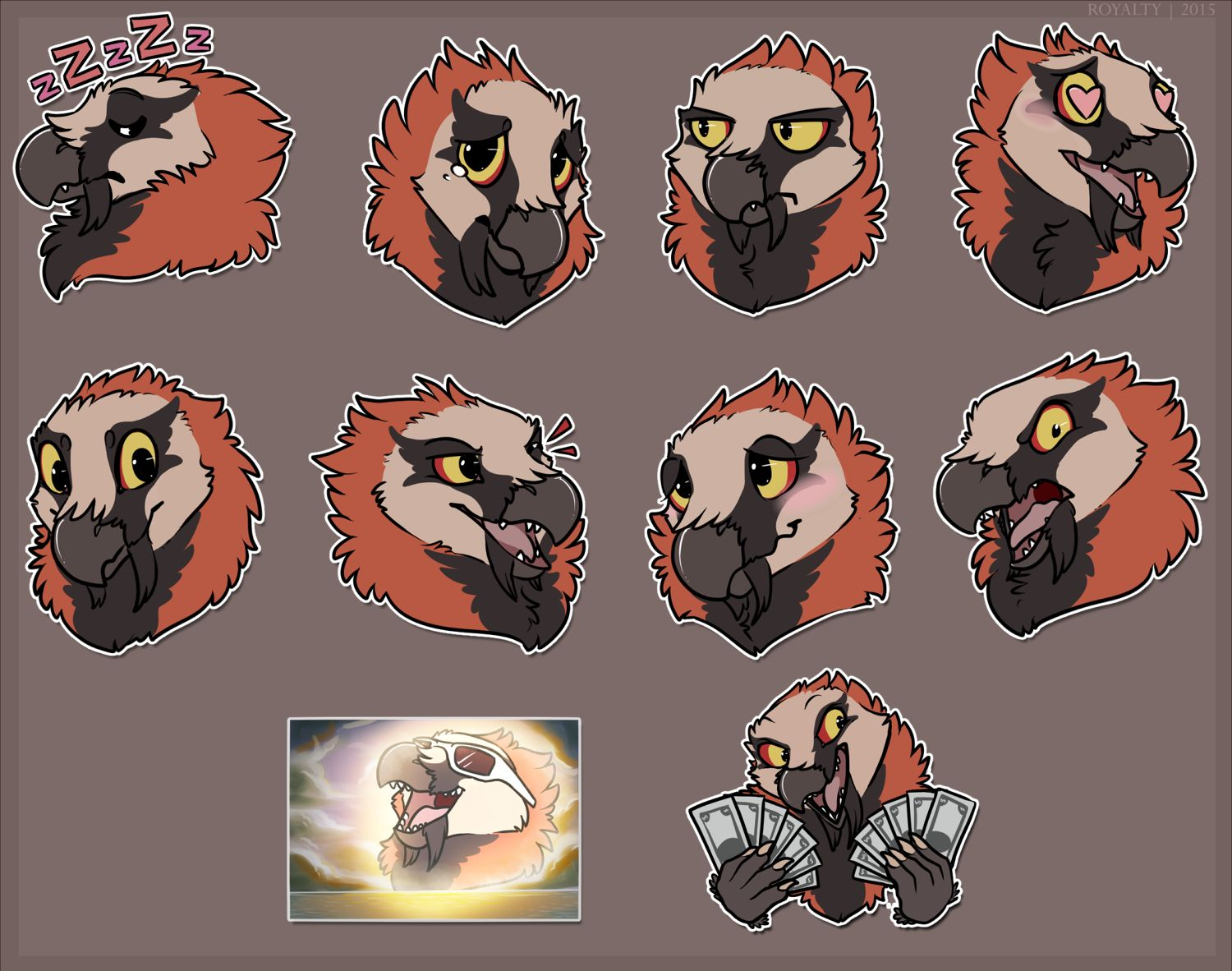 FN - Artwork - Telegram Stickers - Muriat (Clean)